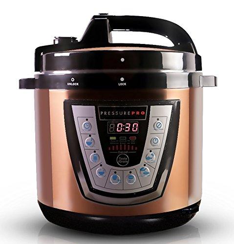 10-in-1 CopperTech PressurePro 6 Qt Pressure Cooker