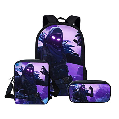 MOREFUN Fortnite Game Boys School Backpack