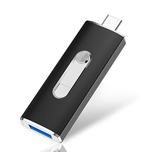 Kootion 32GB Dual Flash Drive USB-C/Type-C/USB