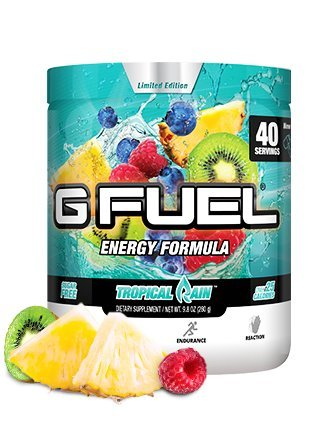 G Fuel Tropical Rain Tub (40 Servings) Elite Energy