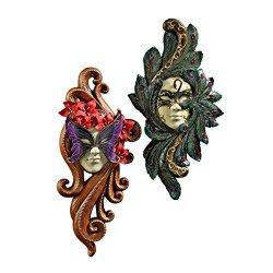 Design Toscano 2-Piece Masquerade at Carnivale