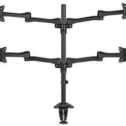 Quad Monitor Desk Mount, Multi Position