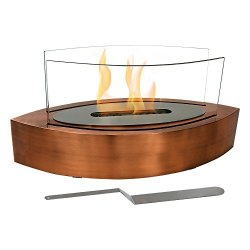 Sunnydaze Barco Tabletop Fireplace, Indoor Ventless