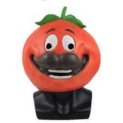 Xmecos Game Tomato Mask Full Face Latex Masks