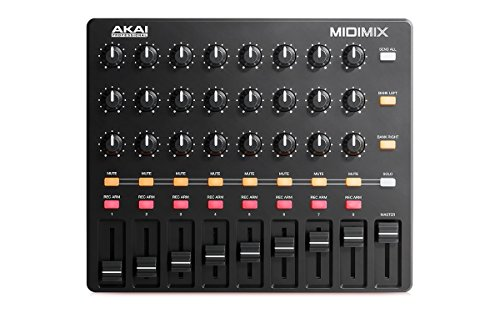 Akai Professional MIDImix | High-Performance Portable USB Akai Professional MIDImix | High-Performance Portable USB Mixer/DAW Controller (24 knobs / 16 buttons / 8 line faders).