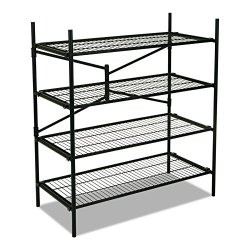Cosco Instant Storage Shelving Unit, 4 Shelves