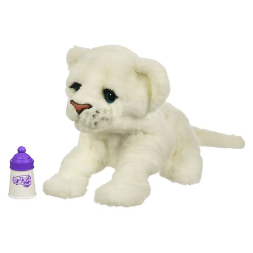 FurReal Friends Baby Lion, Live Target Exclusive - White
