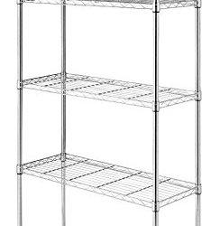 Whitmor Supreme 5 Tier Shelving with Adjustable Shelves
