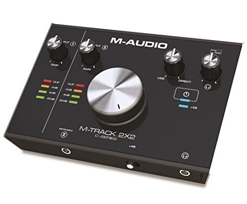 M-Audio M-Track 2X2 C-Series | 2-in/2-out USB Audio Interface