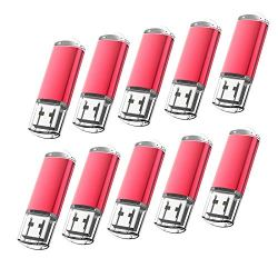 KOOTION 10pcs 8GB USB 2.0 Flash Drive Memory Stick