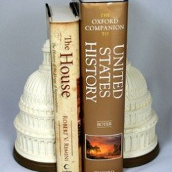 US Capitol Historical Society - Marble Dome Bookends