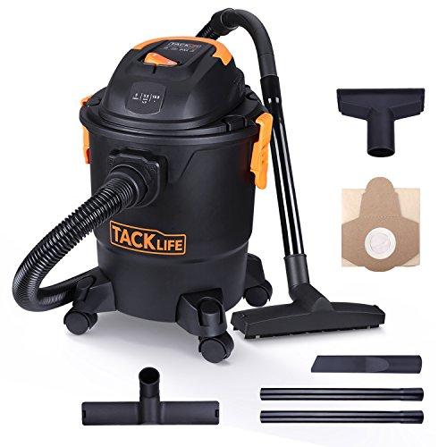 Tacklife Wet Dry Vacuum 5 Gallon, 5.5 Peak HP
