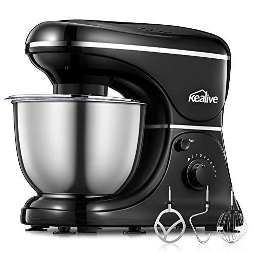 Kealive Stand Mixer, 8 Speed 700 Watt Kitchen Mixer