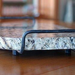 Handmade Reclaimed Granite Cheeseboard