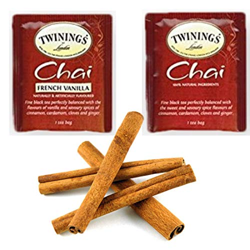 Twinings Chai and French Vanilla Chai Assorted Tea Bags