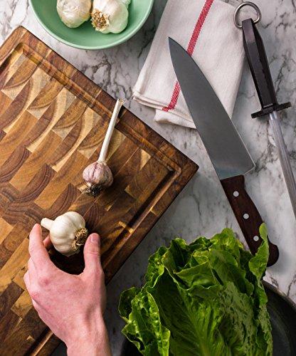 AVIGNON HOME Large End Grain Wooden Cutting Board