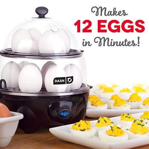 Dash Deluxe Rapid Egg Cooker Electric for Hard Boiled