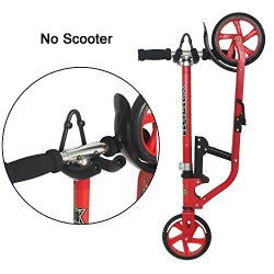 YYST V Style Foldable Scooter Wall Mount Kick Scooter
