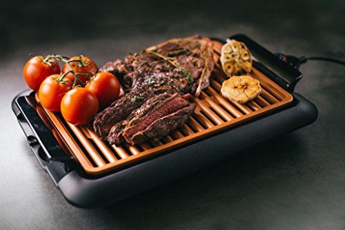 GOTHAM STEEL Smokeless Electric Grill, Griddle