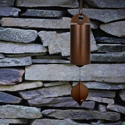 Woodstock Large Heroic Windbell, Antique Copper