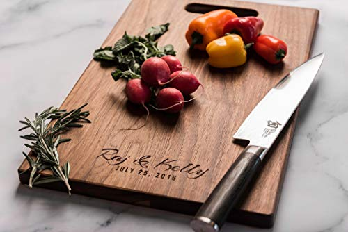 Personalized Charcuterie Board, Engraved Wood