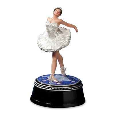 THE SAN FRANCISCO MUSIC BOX COMPANY Ballerina Swan Lake Figurine