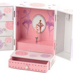 The San Francisco Music Box Company Ballerina Ultra Fancy Box