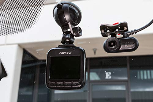 PAPAGO! GoSafe Dual Lens Dash Camera