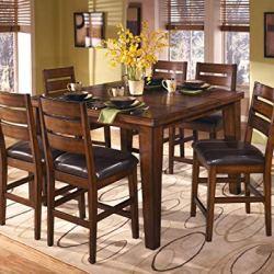 Ashley Furniture Signature Design - Larchmont Barstool Set