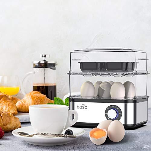 BASA Egg Cooker, 2018 New Multifunctional Electric