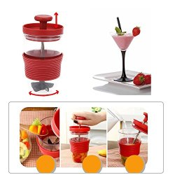 Kitchen Accessories DIY Mini Manual Juicer Fruit