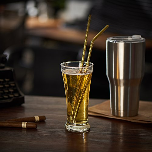Gold Reusable Drink Straw
