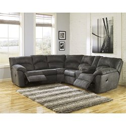 Ashley Tambo 2 Piece Sectional in Pewter