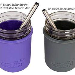 "Extra Short 5"" Safer Stainless Steel Straws"