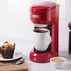 Dash Coffee Maker, Red