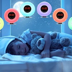 swiftrans Wake up Light, Sunrise & Sunset Simulation Alarm Clock