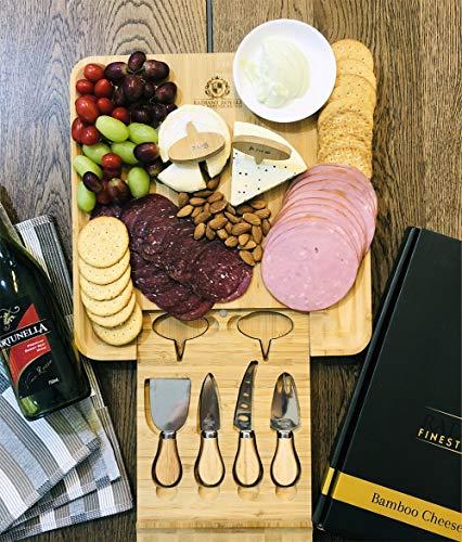 Cheese Board Set, Charcuterie Board, Cheese Cutting Plate