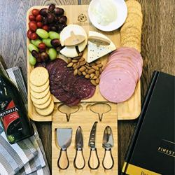 Cheese Board Set, Charcuterie Board, Cheese Cutting Plate