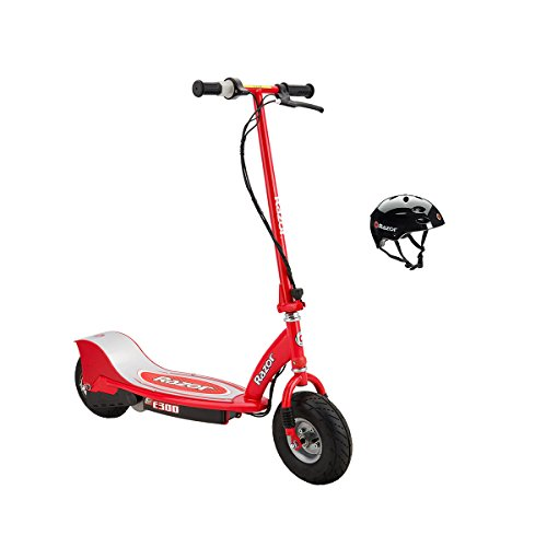 Razor E300 24V Rechargeable Electric Motorized Red Scooter
