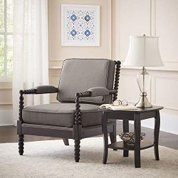 Ravenna Home Belgrove Modern Wood Spindle Accent Chair
