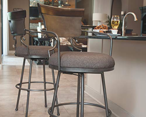 Ashley Furniture Signature Design - Moriann Swivel Barstool