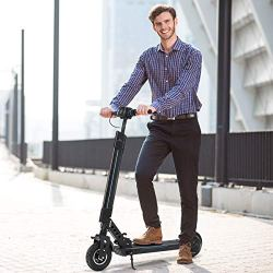 Goplus Electric Scooter Foldable Adjustable Kick Scooter
