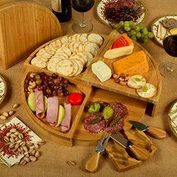 Picnic at Ascot Vienna Bamboo Cheese Board