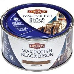 Liberon Black Bison Paste Wax Dark Oak 500ml