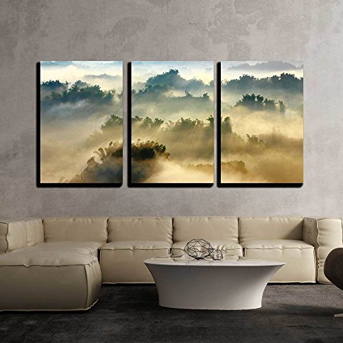 wall26 - 3 Piece Canvas Wall Art - Morning Sunshine