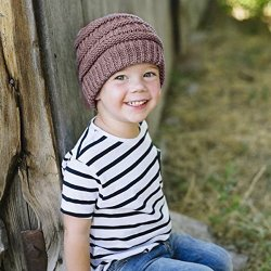 Aigemi Kids Baby Toddler Cable Ribbed Knit Children's
