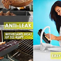 "Long Loaf Pan Bakeware, 11.5 x 4.5"" Nonstick Carbon Steel"