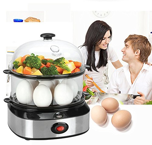 PowCube Egg Cooker Egg Steamer Electric Egg