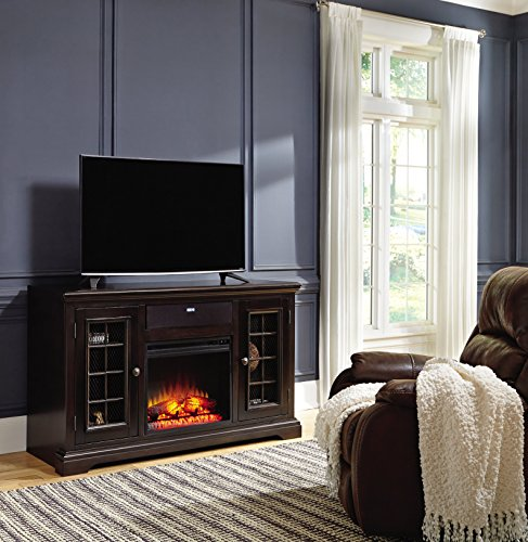 Ashley Furniture Signature Design - Small Electric Fireplace Insert