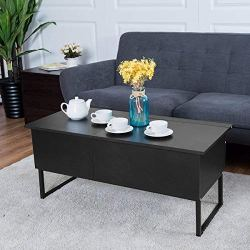 TANGKULA Coffee Table Lift Top Home Living Room